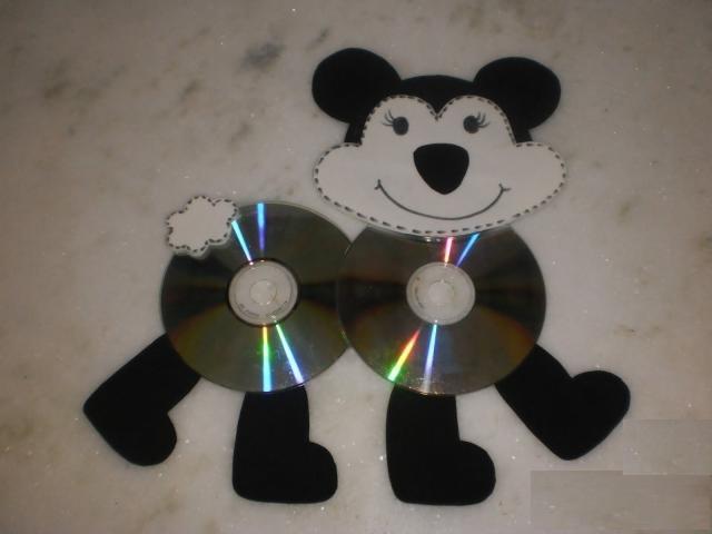 cd dog craft idea