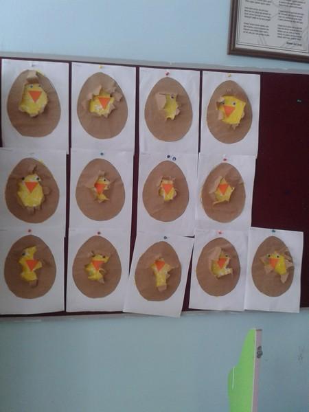 chick craft idea for kids (2)