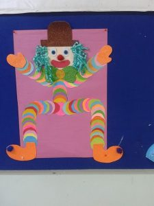 circle clown craft