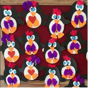 cute penguin craft