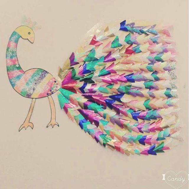 peacock bulletin board idea (1)