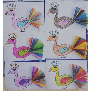 peacock craft idea for kids (1)