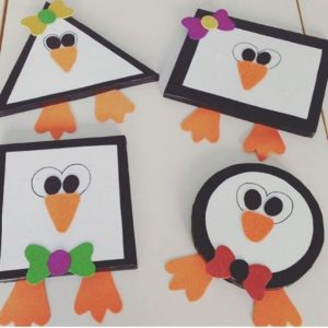 shapes penguin craft