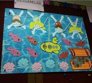 under the sea bulletin board idea
