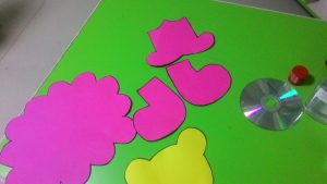 cd lion craft with template (2)
