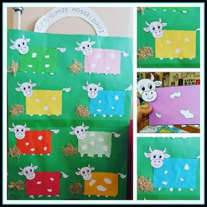 cow craft idea for preschoolers