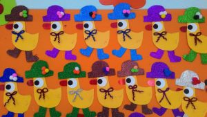 cute duck craft idea for kids