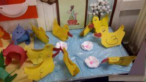 duck bulletin board idea for preschoolers
