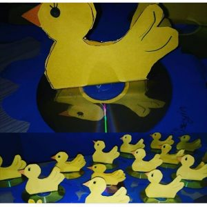 duck craft for kids
