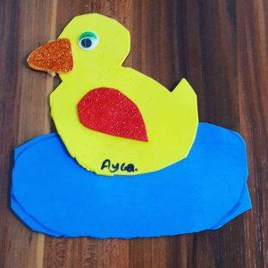 duck craft idea