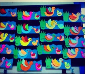 duck craft idea for kids