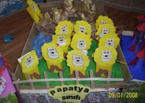 juice box lion craft idea