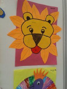 lion craft idea for preschoolers
