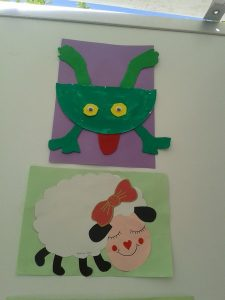 sheep craft idea for preschoolers
