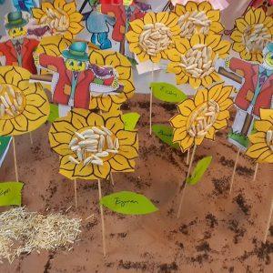 sun flower craft