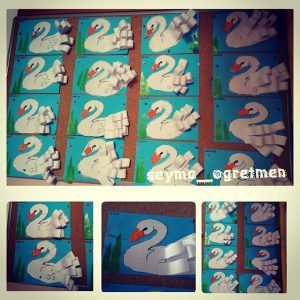 swan craft idea