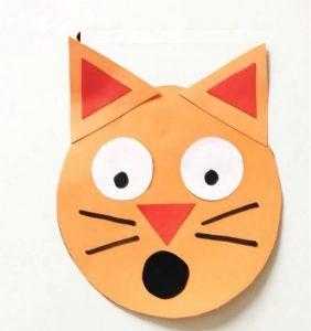 cat craft idea for preschoolers