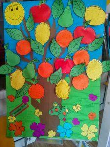 fruit tree craft