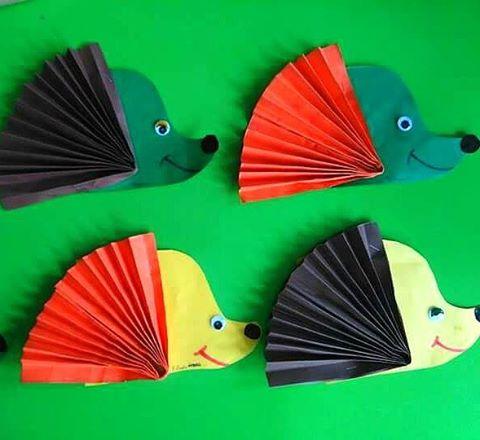 hedgehog craft idea for kids (1)