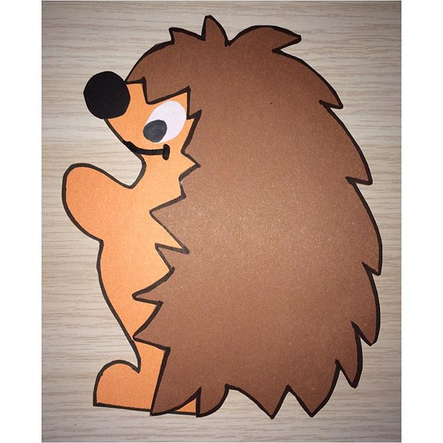 hedgehog craft idea for kids (2)