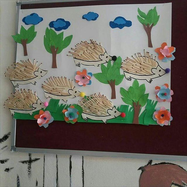 hedgehog craft idea for kids (5)