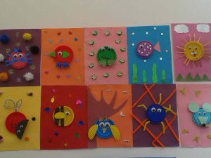 play-doh cap craft  idea for kids (1)