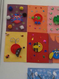 play-doh cap craft  idea for kids (3)