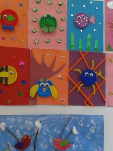 play-doh cap craft  idea for kids (4)