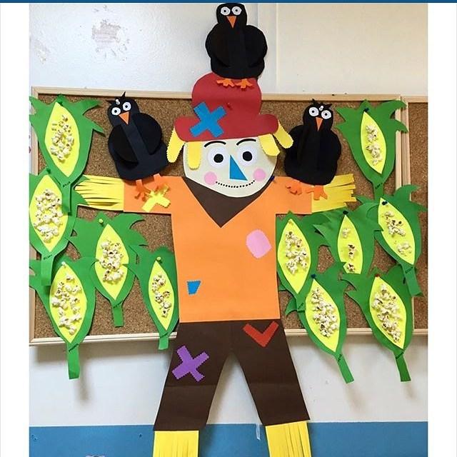 scarecrow bulletin board