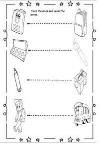 school-trace-line-worksheet
