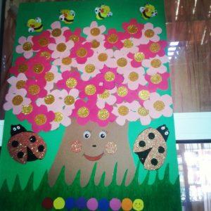 spring tree bulletin board (1)