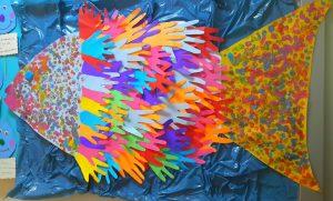 handprint-fish-bulletin-board
