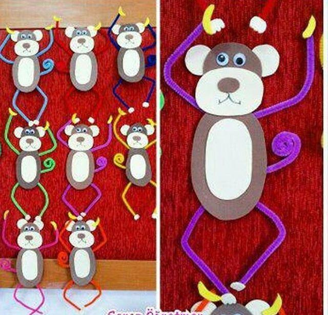 monkey-craft-idea-for-kids