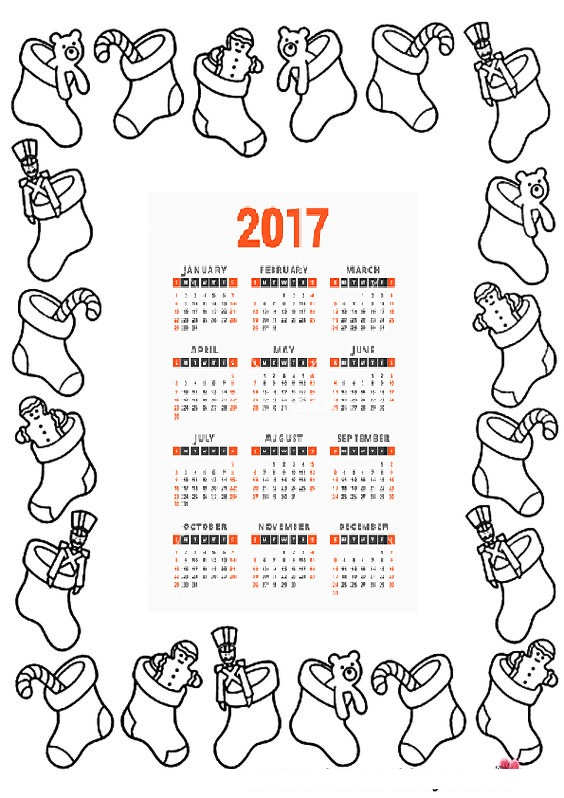 2017-calender-coloring-page