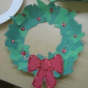 christmas-wreath-craft-idea