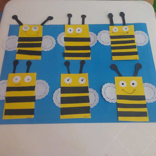 paper-doilies-bee-craft-idea-2