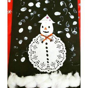 paper-doilies-snowman-craft-1
