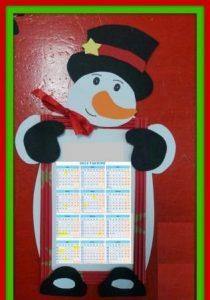 snowman-calender-craft-idea-for-kids-2