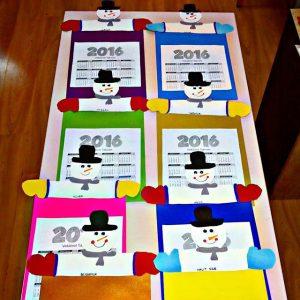 snowman-calender-craft-idea-for-preschoolers-4