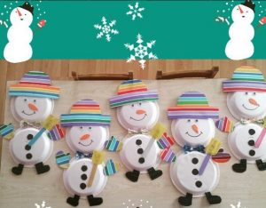 paper plate snowman craft winter craft idea for crafts and worksheets for 5115