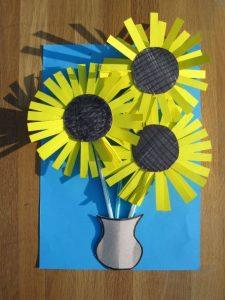 sunflower-craft-idea