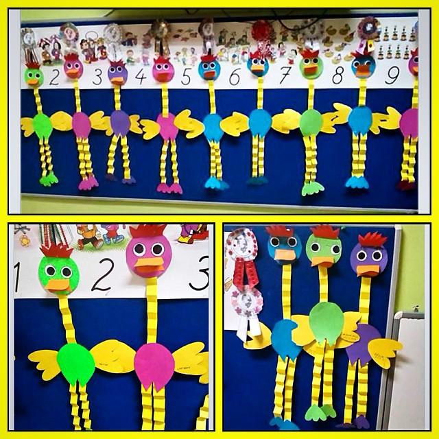 accorddion ostrich craft