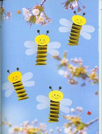 accordion bee craft (2)