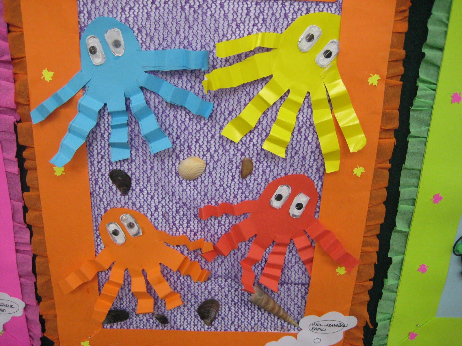 accordion octopus craft