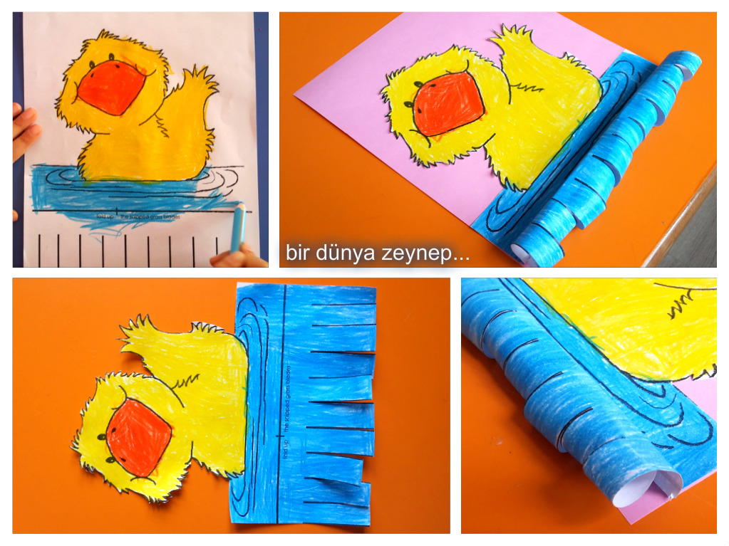 duck craft with template (3)
