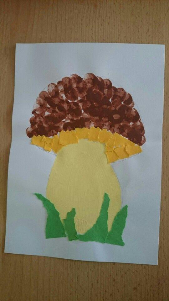 fingerprint mushroom craft