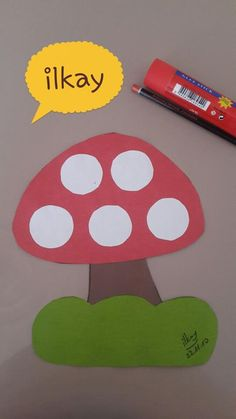 mushroom craft for fall