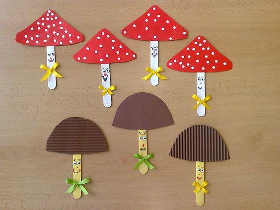 mushroom craft idea for kids (1)