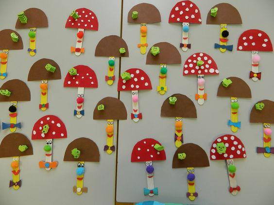 mushroom craft idea for kids (2)