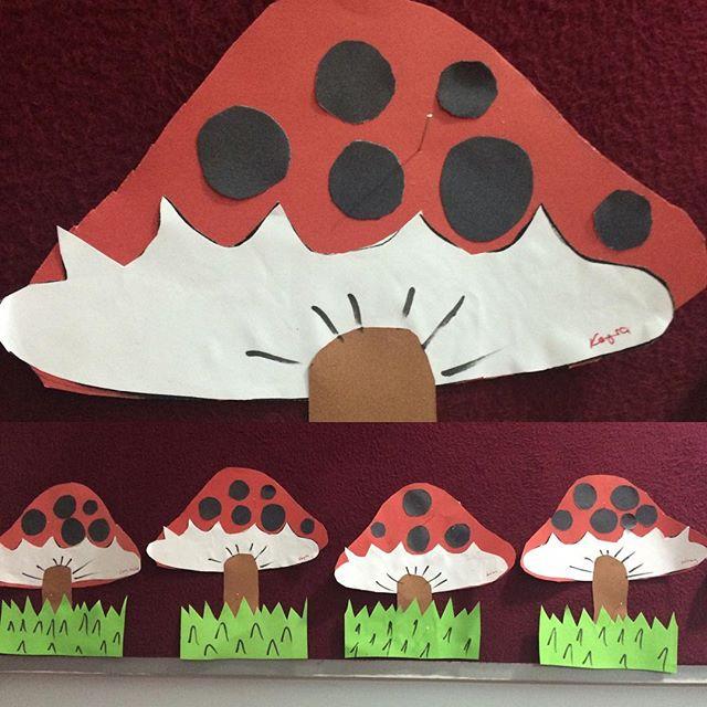 mushroom craft idea for kids